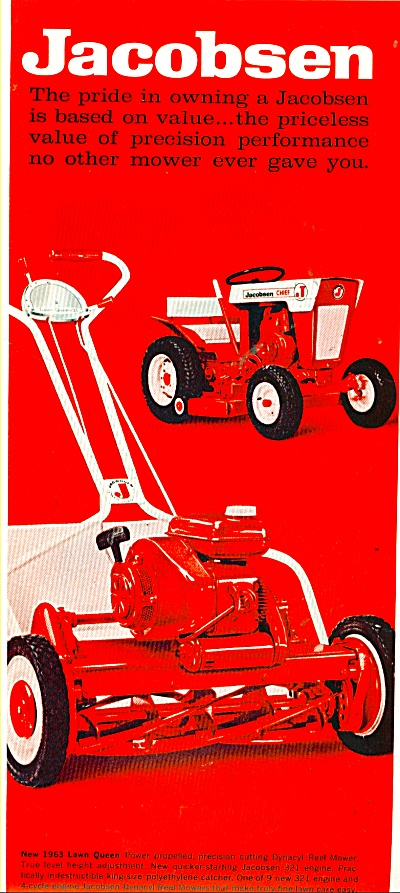 Jacobsen lawn mowers  ad (Image1)