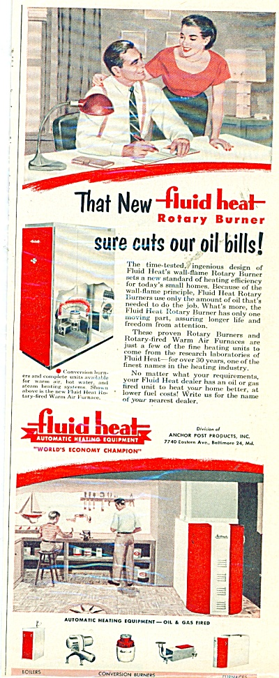 Fluid heating equipment co. ad 1952 (Image1)