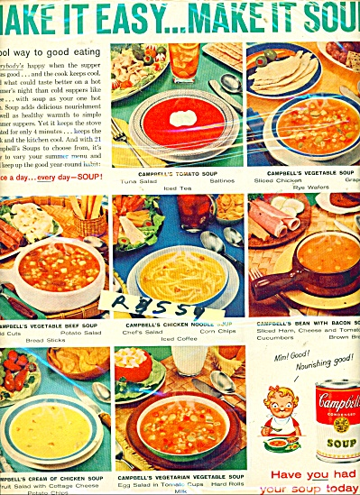 Campbell's condensed soup ad - 1959 (Image1)