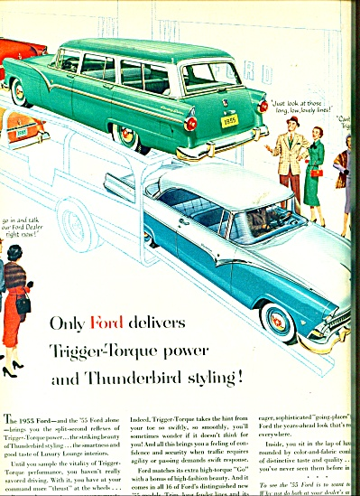Ford Automobile 55  ad (Image1)