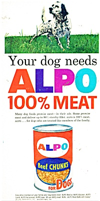 Alpo dog food ad   1963 (Image1)