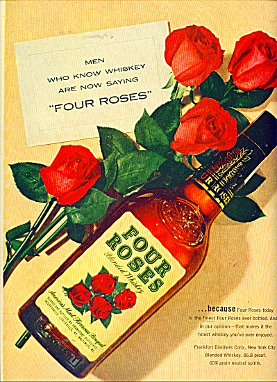 Four Roses ad - 1954 (Image1)