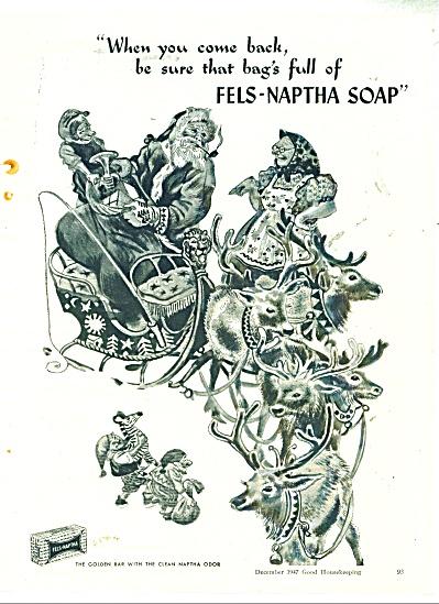 Fels Naptha soap ad - 1947 (Image1)
