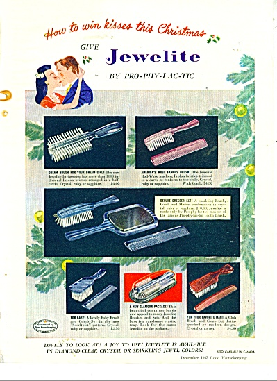 Jewelite by prophylactic ad  - 1947 (Image1)