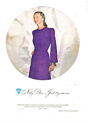 Nelly Don clothess ad    1947 (Image1)