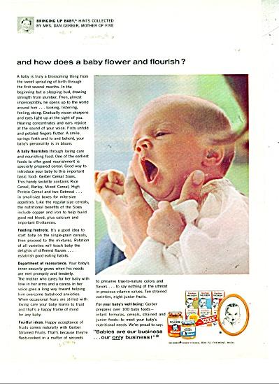 Gerbers baby foods  ad (Image1)