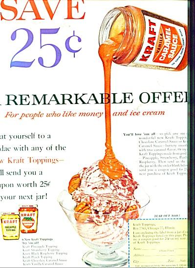 Kraft vanilla Caramel Sauce ad - 1960 (Image1)
