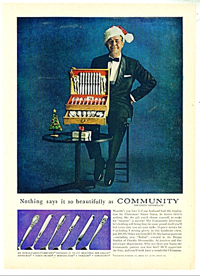 Community Silverplate Ad - 1957