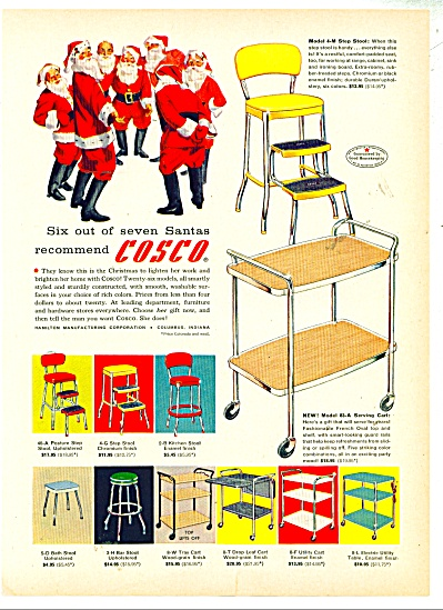 Cosco  products ad - 1957 (Image1)