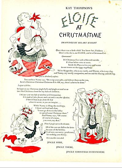 Eloise at Christmastime story (Image1)
