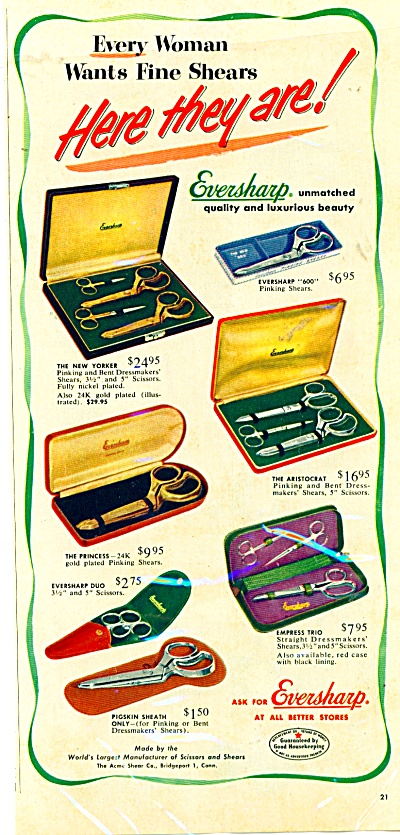 Eversharp shears ad (Image1)
