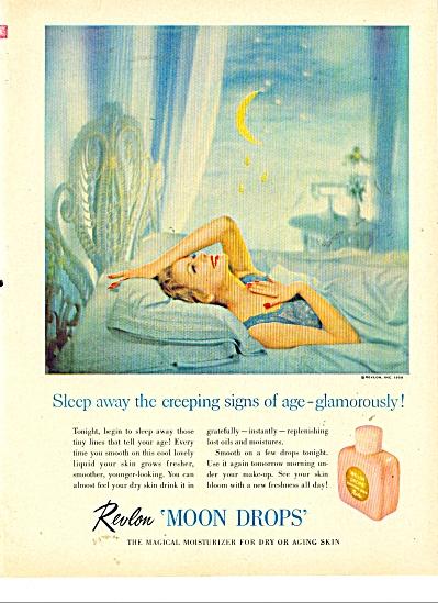 REvlon Moon Drops   ad 1956 (Image1)