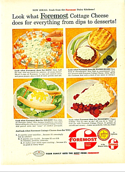 Foremost Dairy Foods Ad