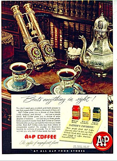 A & P Coffee ad SILVER SERVICE (Image1)