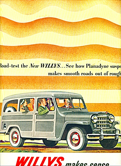 WILLYS  automobile ad - 1950 (Image1)
