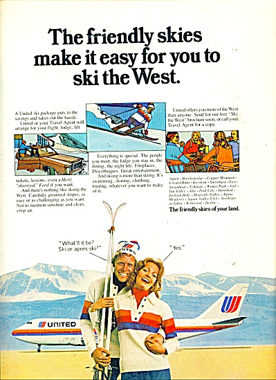 United Airlines ad - 1975 (Image1)