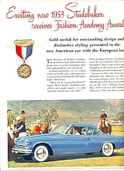 Studebaker automobile 1953 ad (Image1)