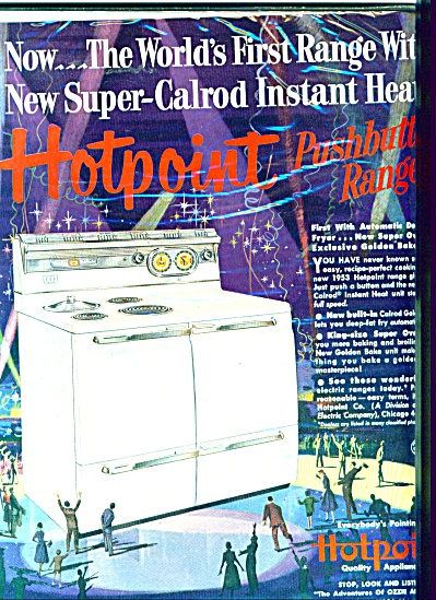 Hotpoint quality appliances ad (Image1)