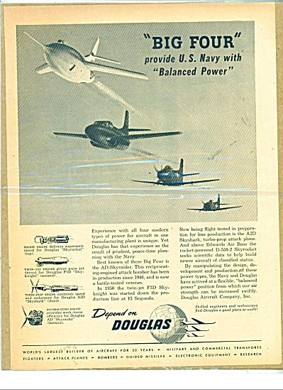 Depend on Douglas  ad - 1951 (Image1)