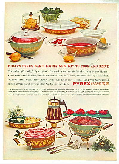Pyrex Ware ad -  1962 (Image1)