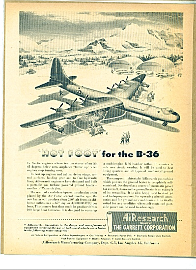 AiResearch division of The Garrett Corp. Ad (Image1)