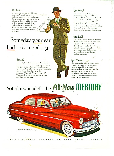 All new Mercury for 1949 ad (Image1)