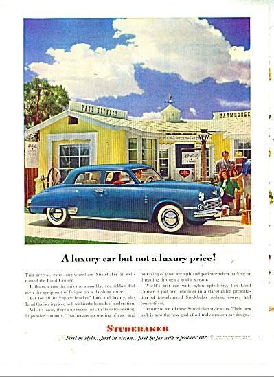 Studebaker automobile ad - 1948 (Image1)