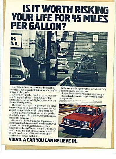 Volvo automobile ad - 1978 (Image1)