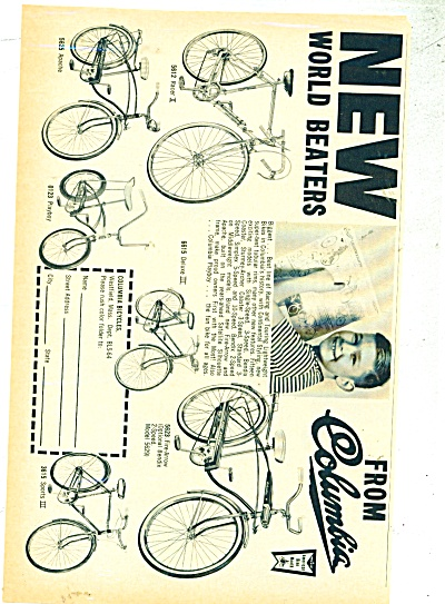 Columbia bicycles ad (Image1)