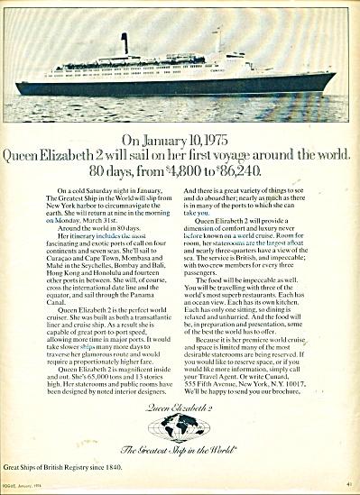 Queen Elizabeth 2- ad    1974 (Image1)
