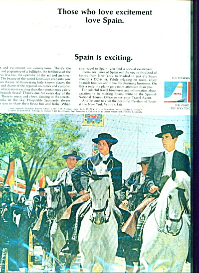 Spain is exciting ad  1965 (Image1)