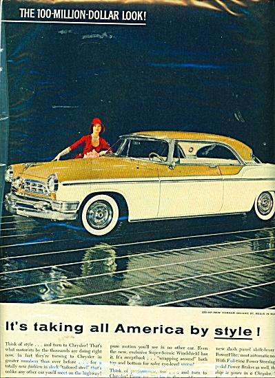 1955 Chrysler NEW YORKER Deluxe St. Regis CAR (Image1)