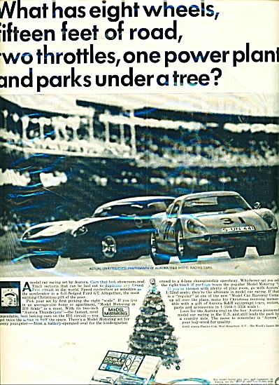 Aurora Model racing cars ad (Image1)