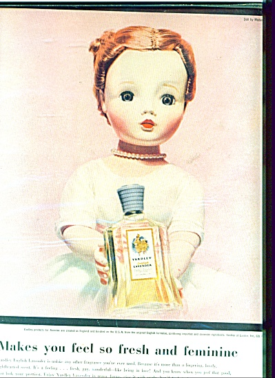 Yardley Cissy Madame Alexander Doll Ad #2