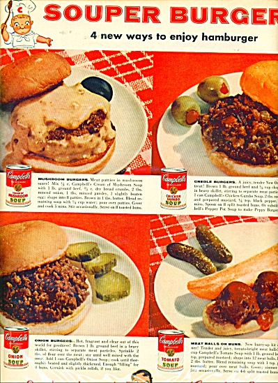 Campbell's soup ad - 1956 (Image1)