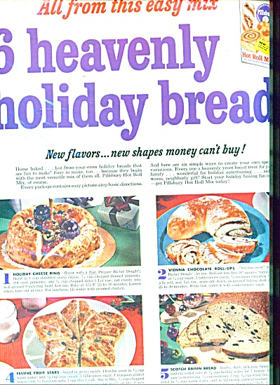 Pillsbury Heavenly holiday breads ad (Image1)