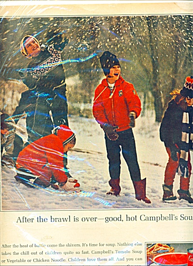 Campbell's  Tomato soup ad - (Image1)