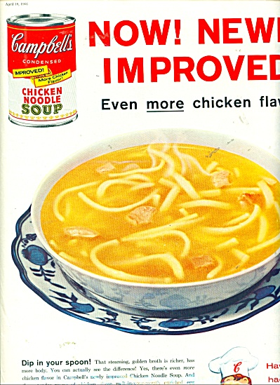 Camp bell's soup ad - 1958 (Image1)