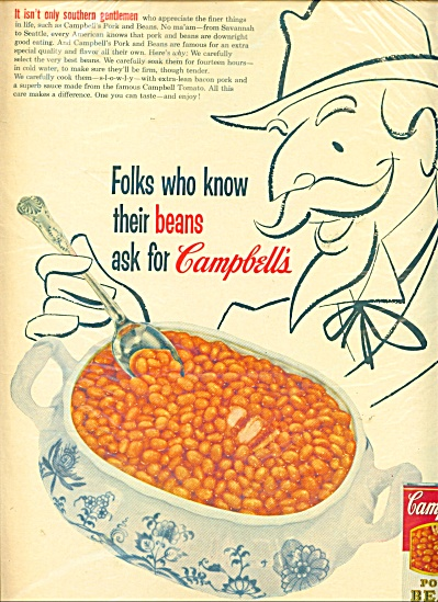 Campbell's Pork and Beans ad (Image1)