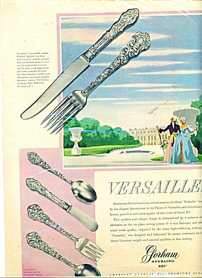 Gorham Sterling Ad  = 1949 (Image1)