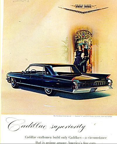 Cadillac automobile ad -   1960 (Image1)