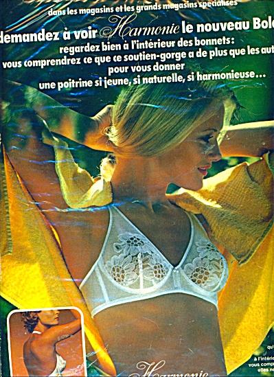Harmonie Bolero ad (Image1)