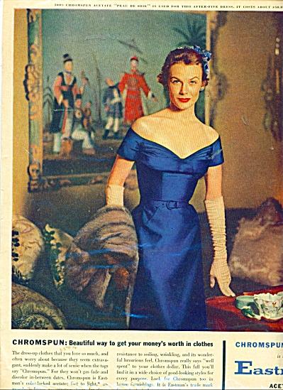 Eastman Kodak Ad Fashion Model - After Five Dress (Image1)