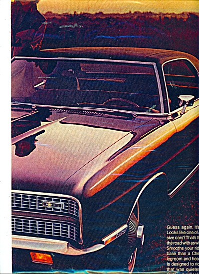 1969 FORD LTD Automobile Car AD (Image1)