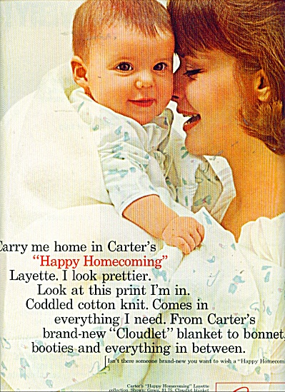 1964 Carter's Clothing AD Happy Homecoming (Image1)