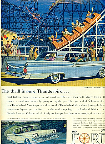 Ford's 1959 cars ad (Image1)