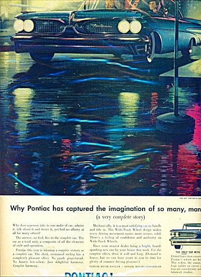 Pontiac automobile ad   -  1959 (Image1)