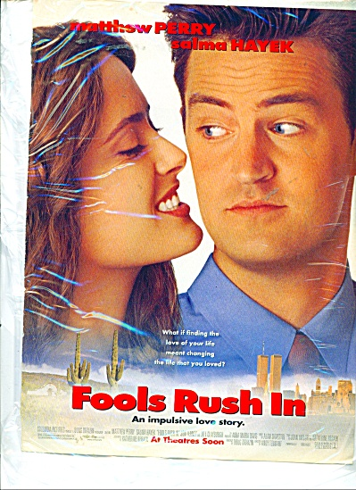 Fools Rush In Movie ad (Image1)