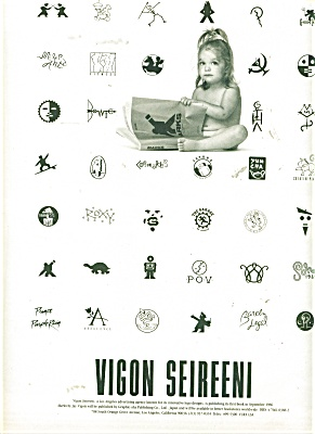 Vigon Seireeni ad - 1986 (Image1)