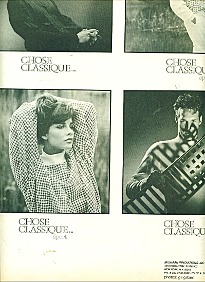 Chose classique -Mishaan Innovations ad - 86 (Image1)